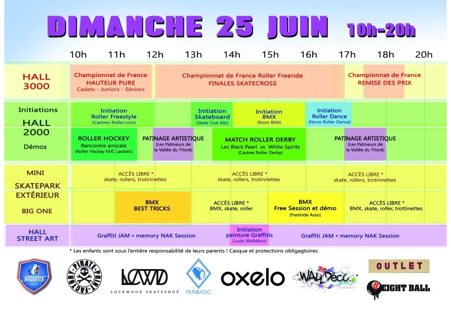 z- Programme Dimanche